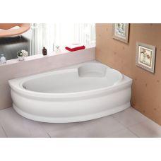 Ванна Bliss Belina 170х110 правая акриловая асимметричная (c панелью и каркасом)