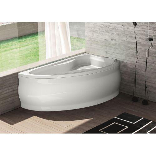 Ванна Bliss Fabia 150х90 правая акриловая асимметричная (c панелью и каркасом)